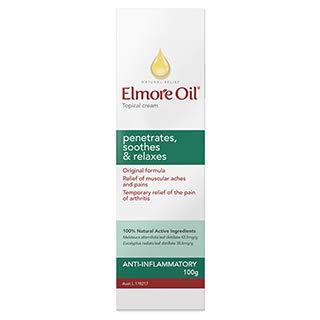 Elmore Oil Natural Pain Relief Cream 100g