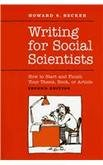 Writing for Social Scientists 2e