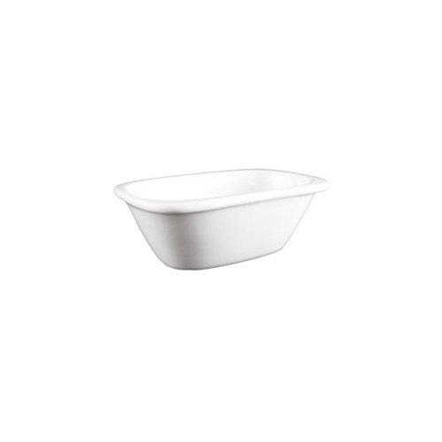 Vertex China ARG-113 Signature White 3 Oz. Rect. Sauce Dish - 36 / - Sauce Vertex