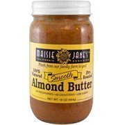 Maisie Janes Smooth Almond Butter, 12 Ounce -- 12 per case. by Maisie Jane's