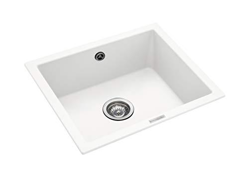 Rangemaster PAR4553CW/ Paragon Kitchen Sink, White