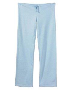 (Bella Ladies' 7.5 Oz. Straight Leg Sweatpants, Baby Blue,)