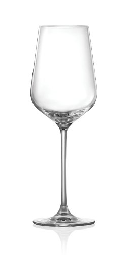 SET OF 4 Elegant Crystal Cabernet Wine Glasses - Lead and Barium Free Crystal - 18 Ounce, Dishwasher Safe Crystal - Lightweight, Durable & Scratch Resistant Titanium Crystal - Hong Kong Hip