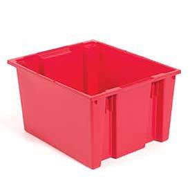 Quantum Stack And Nest Tote Box - 29-1/2 X19-1/2 X15