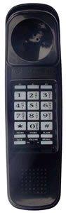 Northwestern Bell Black Telephone - Northwestern Bell Trimstyle Corded Telephone BLACK NWB-52890CS