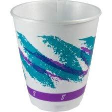 Dart Jazz Trophy Plus Dual Temperature Cups, 8 Oz, 100/Bag