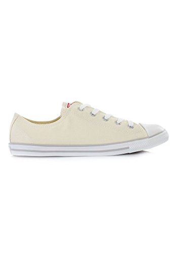 Converse As Dainty Chambray, Baskets mode mixte adulte Beige