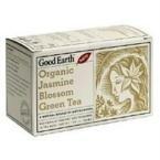 Organic Jasmine Blossom Green Tea Good Earth Teas 18 Tea Bag