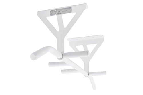 Klimmzugstange von HOLD STRONG Fitness - 6 Griffweiten zur Deckemontage / Profiqualität und Studiozulassung nach EN 957 / HS-K-D6W