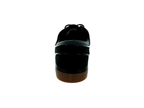 Nike Zoom Stefan Janoski Skate Shoe Black/Anthracite/Gum Med Brown
