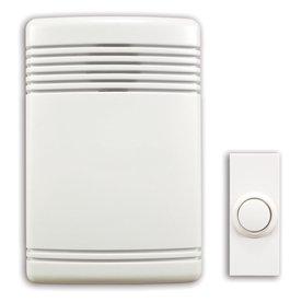 Utilitech White Wireless Doorbell Kit