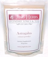 Jing Herbs Astragalus Extract Powder 50 Grams For Sale