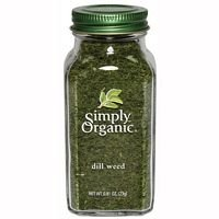Simply Organic Ssnng Dill Weed Org Bttl