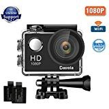 Action Camera Sport Camera 1080P Full HD Waterproof Underwater Camera Davola WiFi Control with 170° Wide-angle Lens 12MP 2 Rechargeable Batteries and Mounting Accessories Kit Shenzhen Dawola Technology Co.,Ltd.