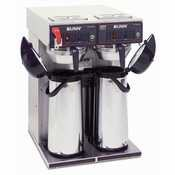 Cwtf Twin Aps (Bunn CWTF-APS-0041 Twin Airpot Coffee Brewer. Brews 15 gallons (56.8 litres) of per)