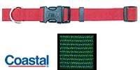 Tuff Lock (Coastal Pet Tuff Side Release Adjustable Dog Collar (Hunter Green, 14-20 Inch L x 3/4 Inch W))