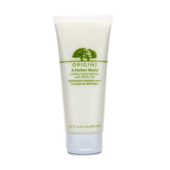 Origins Origins a perfect world creamy body cleanser with white tea, 6.7oz, 6.7 (Creamy Body Cleanser With White Tea)