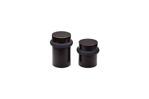 Emtek 2257 1-1/2'' Cylindrical Floor Bumper from the Door Accessories Collection, Flat Black by Emtek