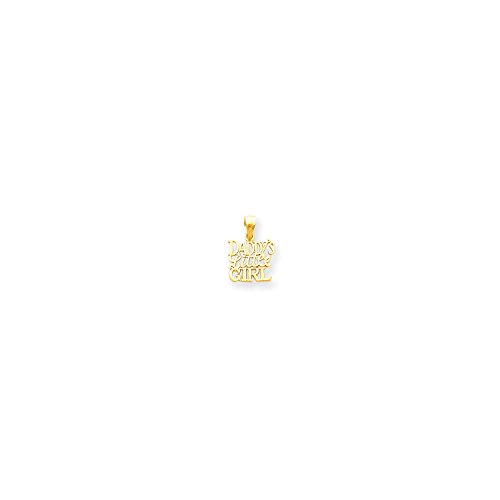 Roy Rose Jewelry 10K Yellow Gold Daddy's Little Girl Charm