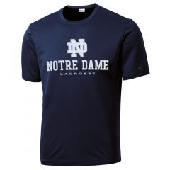 Notre Dame Fighting Irish Lacrosse Tee - Youth-Large