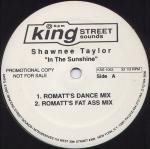 Shawnee Taylor - In The Sunshine - King Street Sounds - KSS 1063, King Street Sounds - KSS-1063