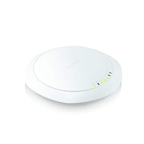 Zyxel WiFi 11ac 3x3 Access Point, Easy Setup and Management, Free NebulaFlex Cloud Management, Dual Band, 802.11ac, No PoE Injector (NWA1123-AC Pro) (3x3 Dual Optimized (No PoE Injector))