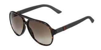 Gucci Sunglasses - 1065 / Frame: Havana Lens: Brown - Polarized Sunglasses Gucci