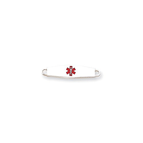 Sterling Silver Medical ID ()