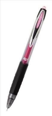 Uniball Signo 207 Rollerball Pen Needlepoint - Color: Pink