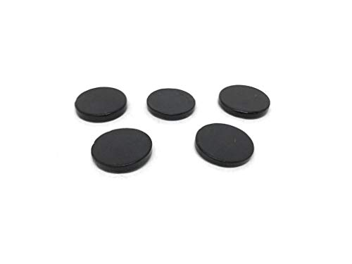 Karelian Heritage Genuine Shungite Stone Mobile Phone Stickers Set 5 Pieces for EMR Protection S022