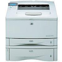 HP LaserJet 5100tn - Printer - B/W - laser - A3, Ledger - 1200 dpi x 1200 dpi - up to 22 ppm - capacity: 850 sheets - Parallel, 10/100Base-TX