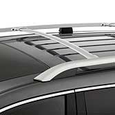 Amazoncom Acura MDX OEM Roof Rail Crossbars SILVER - Acura mdx roof rails