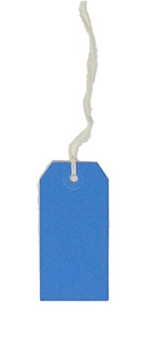 USA-Made Gift Tags Without String Available in Sizes and 7 Colors (Blue, 4) by ()