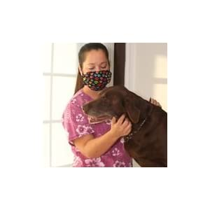 Pink Dogwood Flowers Dust and Allergy Mask - dog grooming
