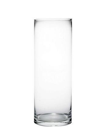 Hohe Vase Glaszylinder 40 X 15 Cm Amazonde Küche Haushalt