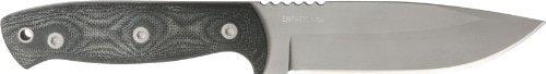 Entrek USA Knives 24 Bravo Fixed Blade Knife with Black Micarta Handles