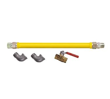 Dormont Manufacturing Safety System Stationary Gas Connector Kit, 1/2'