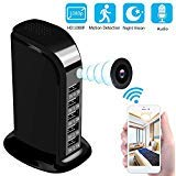 Spy Camera WiFi 1080P HD - Hidden Camera Wireless Hidden and Motion Detection Mode Mini Camera for Your Home and Office (Black) by Pamela Elizabeth
