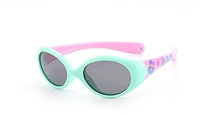 Xiaochou@sl Gafas de Sol polarizadas para niños Gafas de Sol para Deportes al Aire Libre Gafas de Sol con protección UV para niños y niñas Claro (Design : 3)