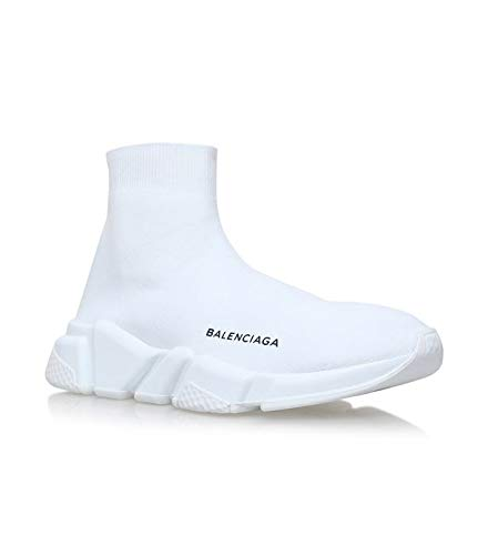 cfef18b982 Mr.SHOES Balenciaga Speed Trainer White Sneaker Tess S Gomma Maille Noir  Sneakers for Men