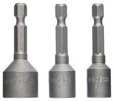 Schl/üsselweite: 17 mm, L/änge: 50 mm Bosch Professional Steckschl/üssel f/ür Sechskantschrauben