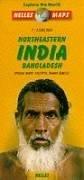 Nelles Northeastern India - Bangladesh Travel Map (Nelles Map)...