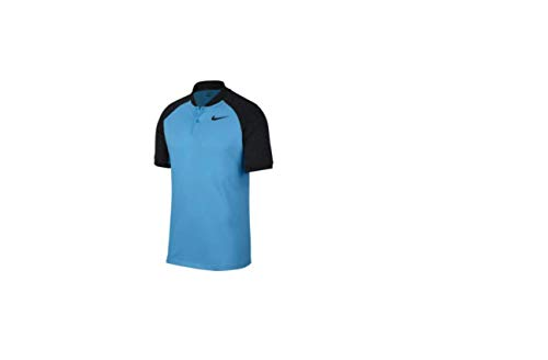 ed421f1b1 NIKE Modern Fit Transition Dry Color Golf Polo 2017 Blue Fury Black X-Large
