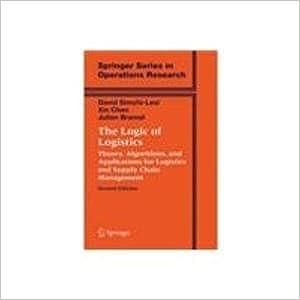 Book The Logic of Logistics