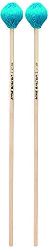 Birch Marimba Mallets (Mike Balter Chorale Series Birch Handle Marimba Mallets Aqua Microfiber Soft)