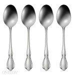 Oneida Chateau Oval Soup Spoon, Set of - 4 Soup Oval Spoons