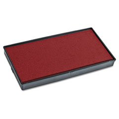 CONSOLIDATED STAMP 65476 2000 PLUS Replacement Ink Pad for Printer P60, Red by Consolidated Stamp
