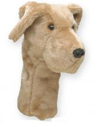 Headcover Golf Club Lab - Daphne's HeadCovers: Headcover - Yellow Lab Dog