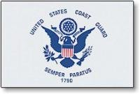 Annin 3' x 5' Premium Military Flag by Annin - US Coast Guar