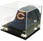 Collectible Deluxe UV Acrylic Cap Baseball Hat Display Case - With Mirror from Comictopia